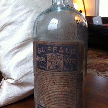 Buffalo Lithia Water bottle - Bottles