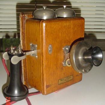 W.E. 293A wall phone - Telephones