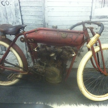 Old Harley Davidson Motorcycle - Motorcycles