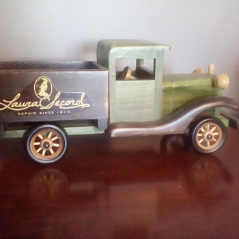 Laura Secord Wooden Truck