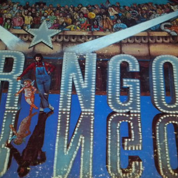 Ringo vinyl record - Records