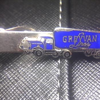 GreyVan Lines Tie Clip - Accessories