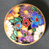 enamelled brooch - unknown maker and period