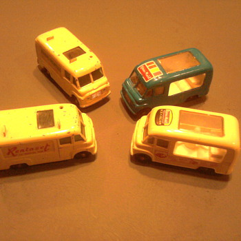 Ice cream truck & Tv repair trucks by Matchbox... - Model Cars