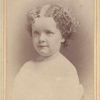 Angelic Child's Portrait by Park of Cleveland, Ohio - Photographs