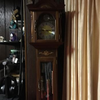 Our grandfather clock built by My grandpa  Joe Johnston  - Clocks