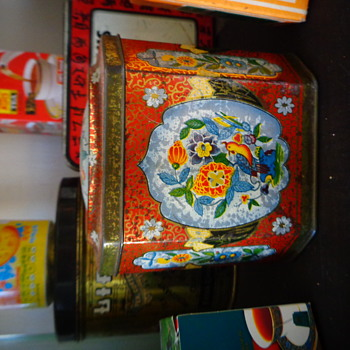 Té Ybarra Tea Tin - Advertising