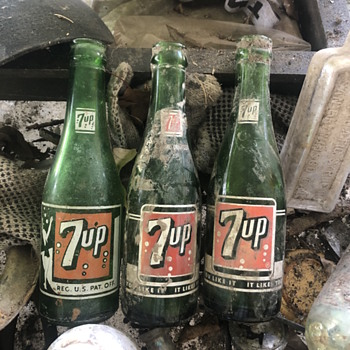 7up bottles from New Orleans - Bottles