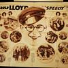 Harold Lloyd, Newsprint Insert and Patrons Fan