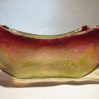 Rindskopf, Pepita decor art nouveau glass - Art Glass