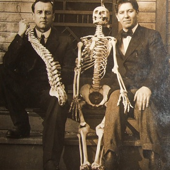 Skeleton in early RPPC image - Photographs