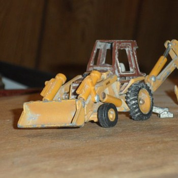 old toy backhoe