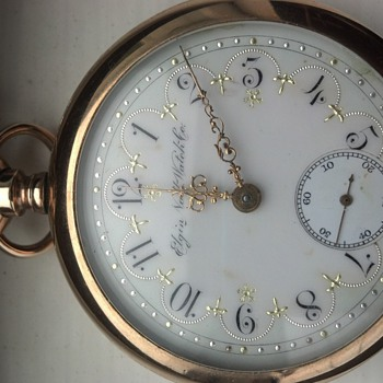 Elgin National Watch Co. ladies (?) pocket watch