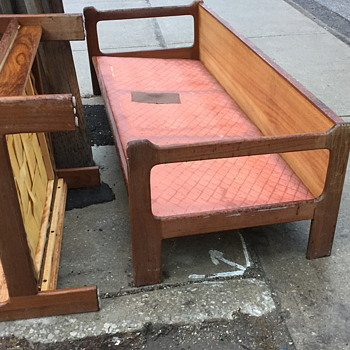 Mid century chair and couch. - Furniture