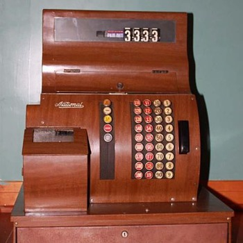 1920 National Cash Register  - Coin Operated