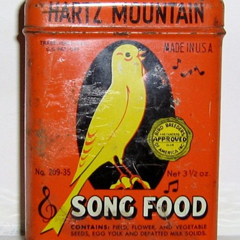 I love old litho tins - Advertising