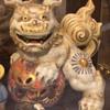 Foo Dog incense burner and budda