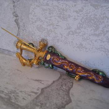 KIRK'S FOLLY Fairy Fighting Sword - Costume Jewelry