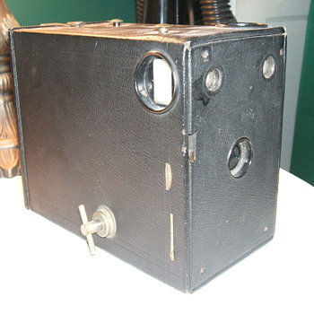 My 1909 Eastman Kodak Model B Premo Cartridge Camera. - Cameras