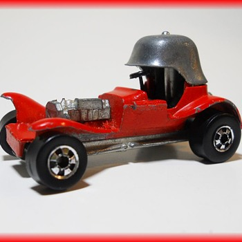 HOT WHEELS - RED BARON - 1969 - HONG KONG ( Dinky Toy ) - Model Cars