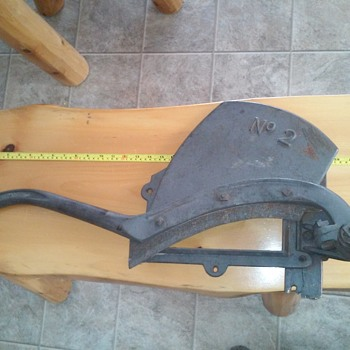 Can anyone identify this cutter?
