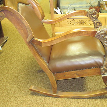 Aunts Old Rocking Chair