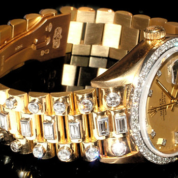 My Custom Iced Day/Date Presidential - Customised In South Africa - Wristwatches