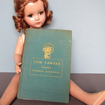 Tom Sawyer Book Illustrated by Norman Rockwell, 1936 - Books