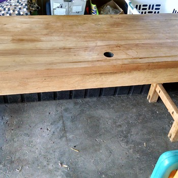 Old library table - Furniture