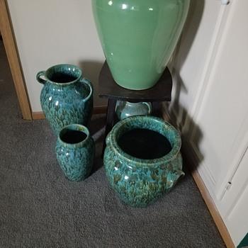 My Zanesville stoneware pottery Neptune  line. - Pottery