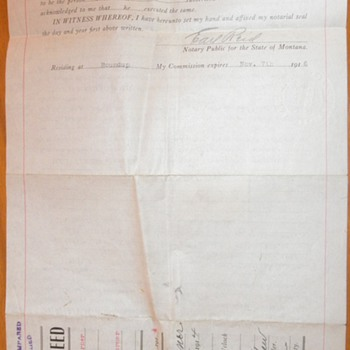 Property Deed - Paper