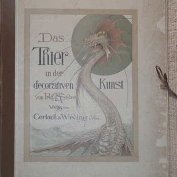 Jugendstil design/decorative portfolio - Art Nouveau