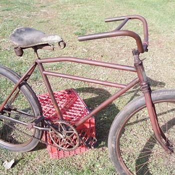 1930s Elgin bicycle