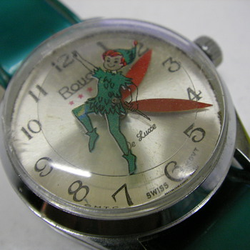 1972 Peter Pan Wristwatch - Wristwatches