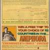 1971 - Amphora Tobacco Contest Coupon