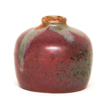 Japonist Stoneware Vase, Hans A. Hjorth (Denmark), 1905-1910 - Pottery