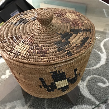 Native basket - Native American
