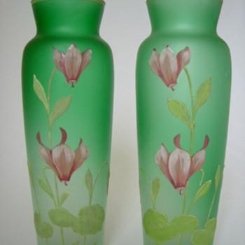 Goldberg Vases - Art Glass
