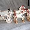 Cinderella Princess Coach & Four Horses by BZ Originals, CA Pottery