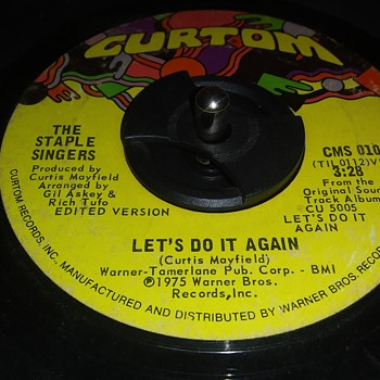 45 RPM SINGLE....#54 - Records