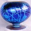 Durand Footed Rose Bowl Vase c.1925