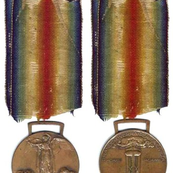 WWI Medal - Military and Wartime