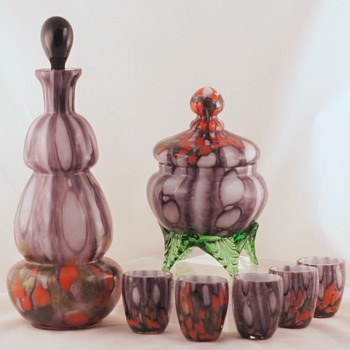 Welz Shapes and Décors - A Few More Groups #7 - Art Glass
