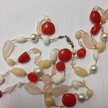 Oriental Hand Made Beaded Chain -
