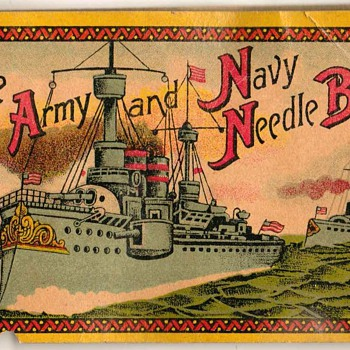 Army & Navy Needle Book - Germany - Sewing