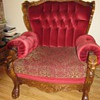 Belgian Lion Head chairs believed to be from around the 1940's