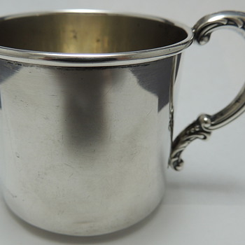 Sterling Tea Cup - WOLFENDEN SILVER CO. - Silver