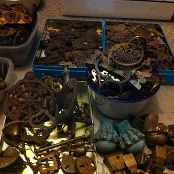 Old Brass hardware