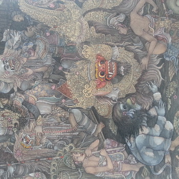 Balinese Painting - Asian