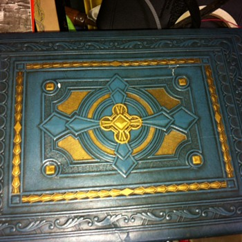 leather covered box